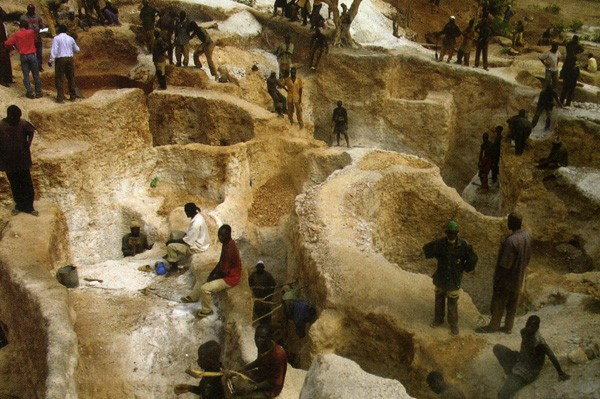 Добыча в Восточной Африке