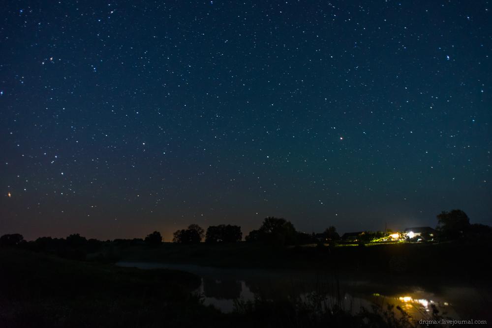 звездное небо в деревне фото последняя композиция прославила