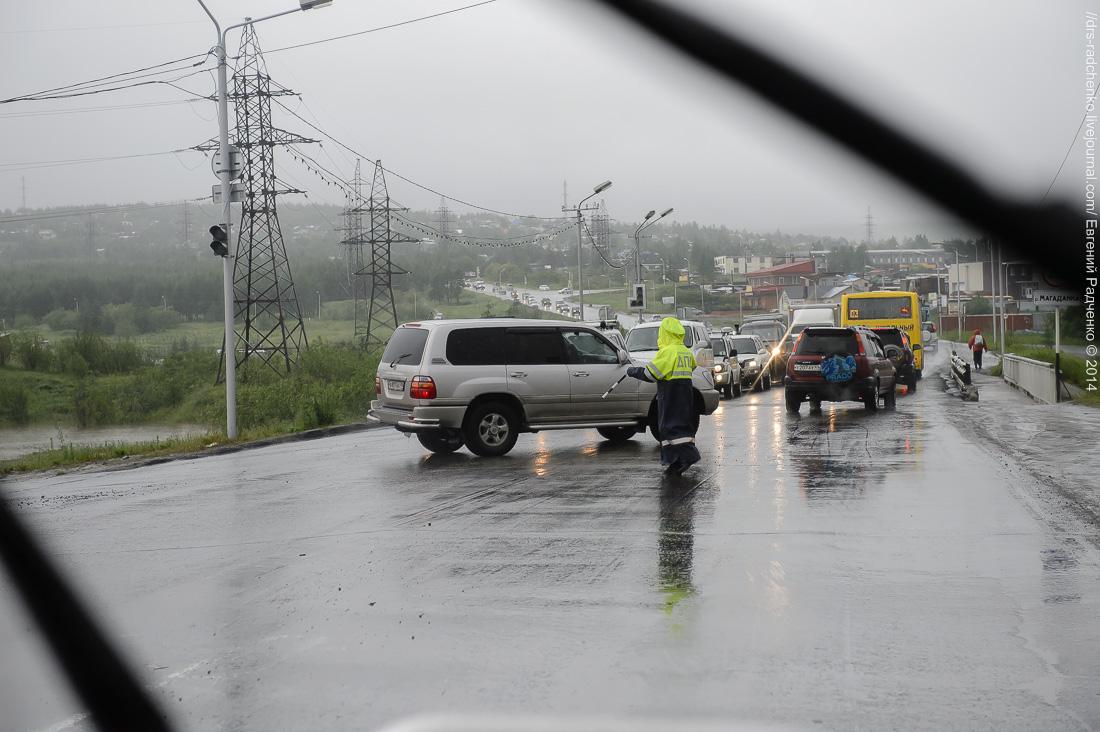 фото последнего наводнения в г магадане считается, что ивовый