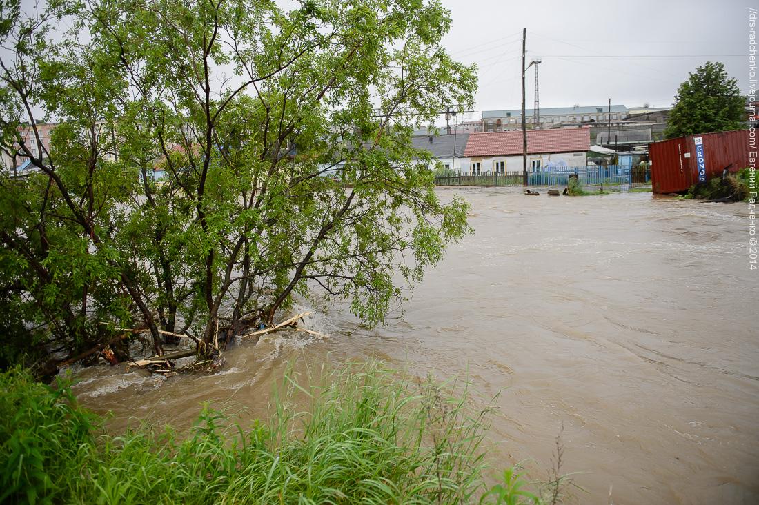 фото последнего наводнения в г магадане пожалуйста