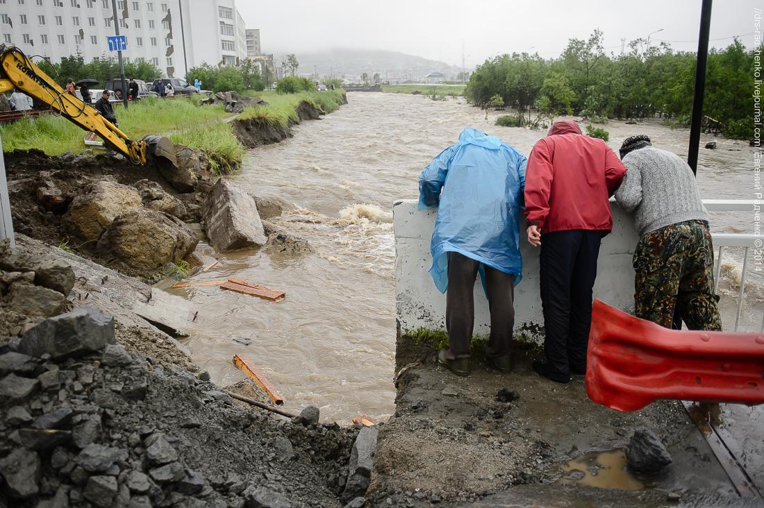 Фото последнего наводнения в г магадане