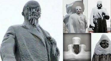 ленин в зимнем