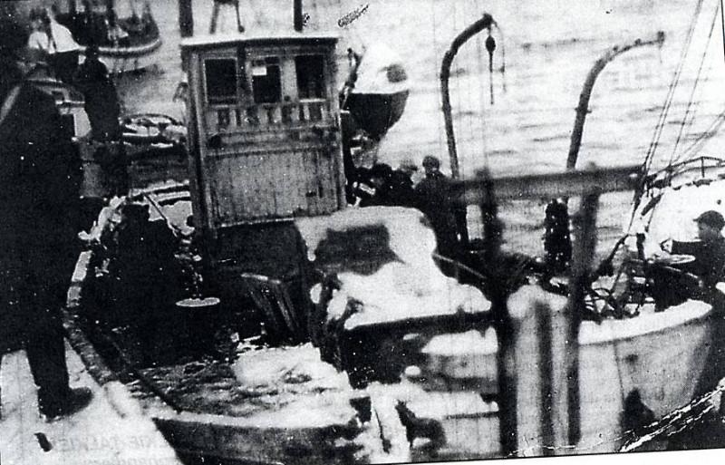Апрель 1943: трагедия у острова Сенья