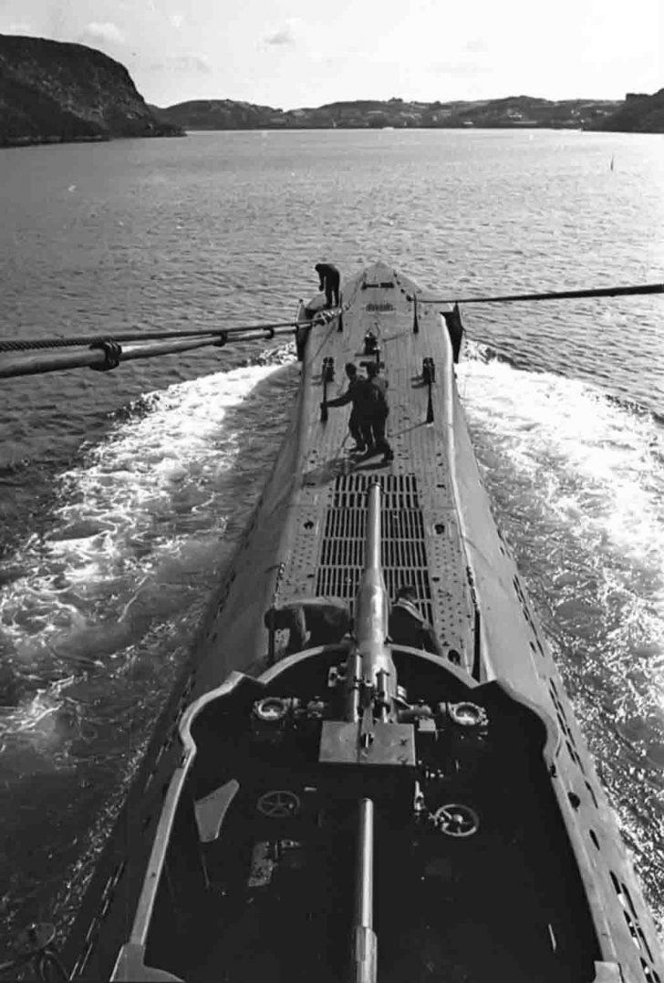 К-21 в море. Фото: Евгений Халдей