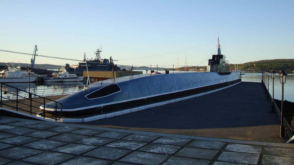 Подводная лодка К-21, стоящая в Североморске, является филиалом Военно-морского музея Северного флота