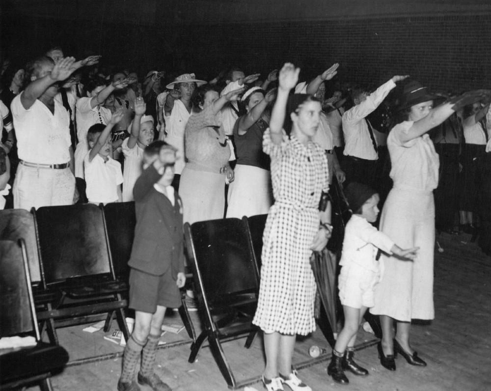 Собрание членов Германо-американского союза в Висконсине, 1937 г.