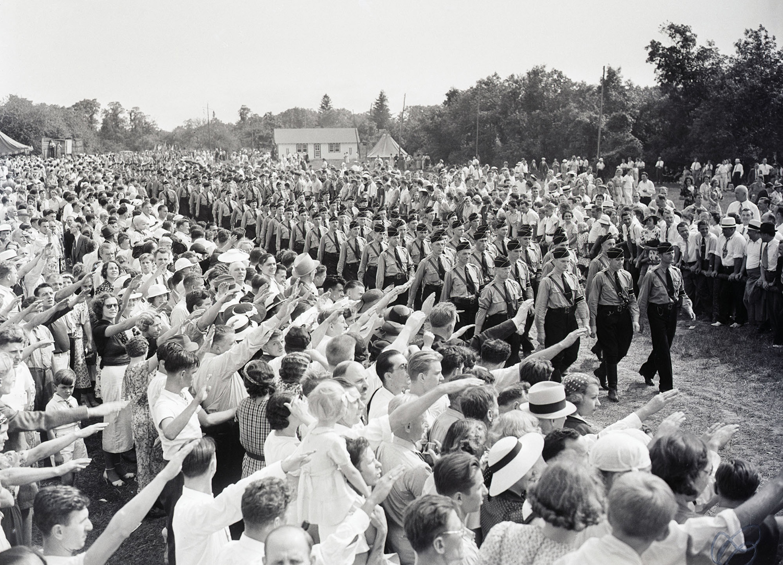 Марш нацистов на Лонг-Айленде, 1937 г.