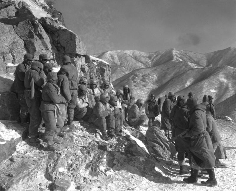 Пленные китайские «добровольцы», декабрь 1950 г.