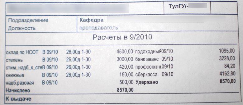 зарплата доцента в мифи