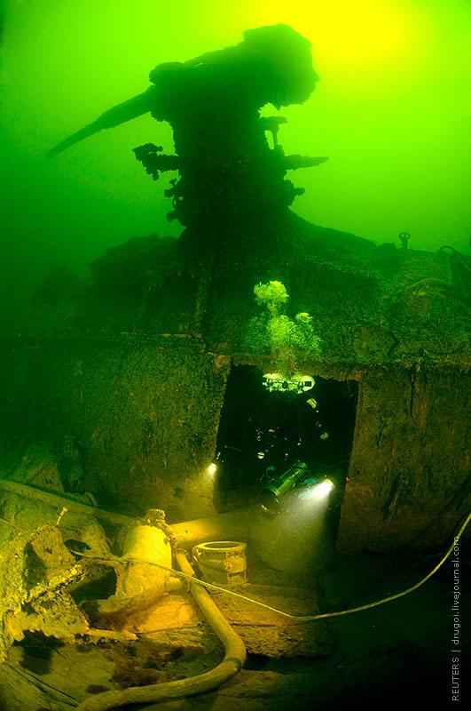 подводная лодка обнаружение в океане