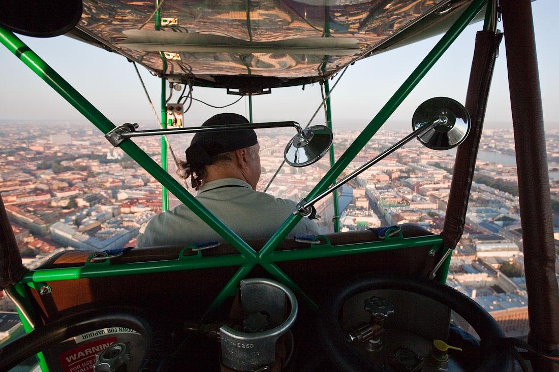 Полет над Питером