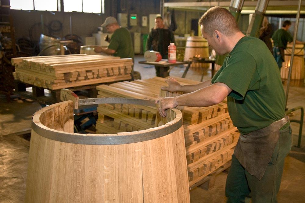 Изготовление бочек деревянных
