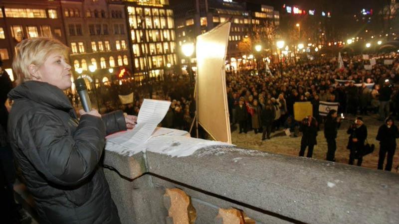 демонстрация в Осло