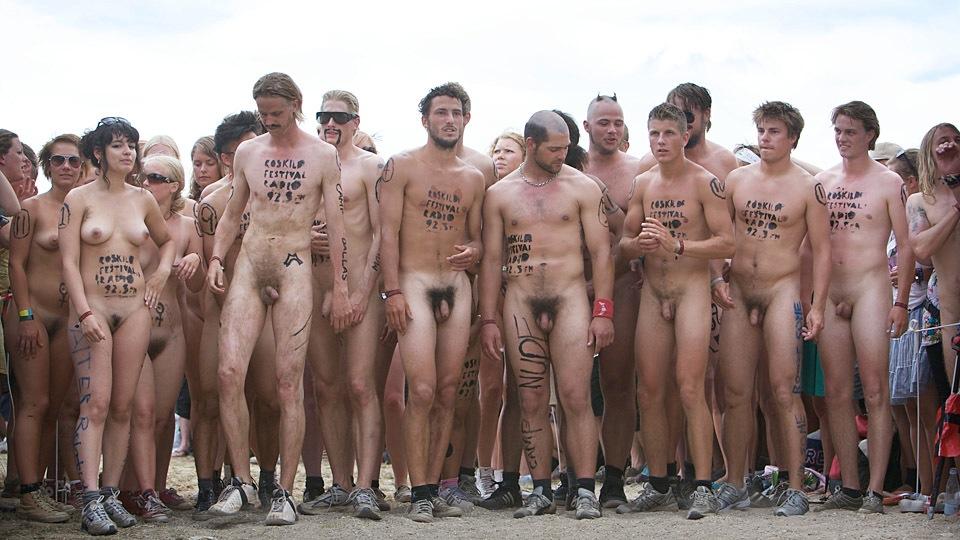 Забеги голых студентов