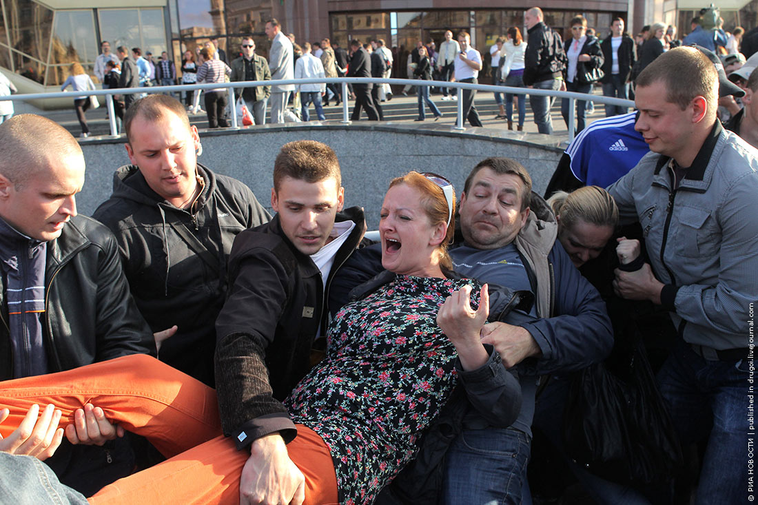 Минск: революция через социальные сети