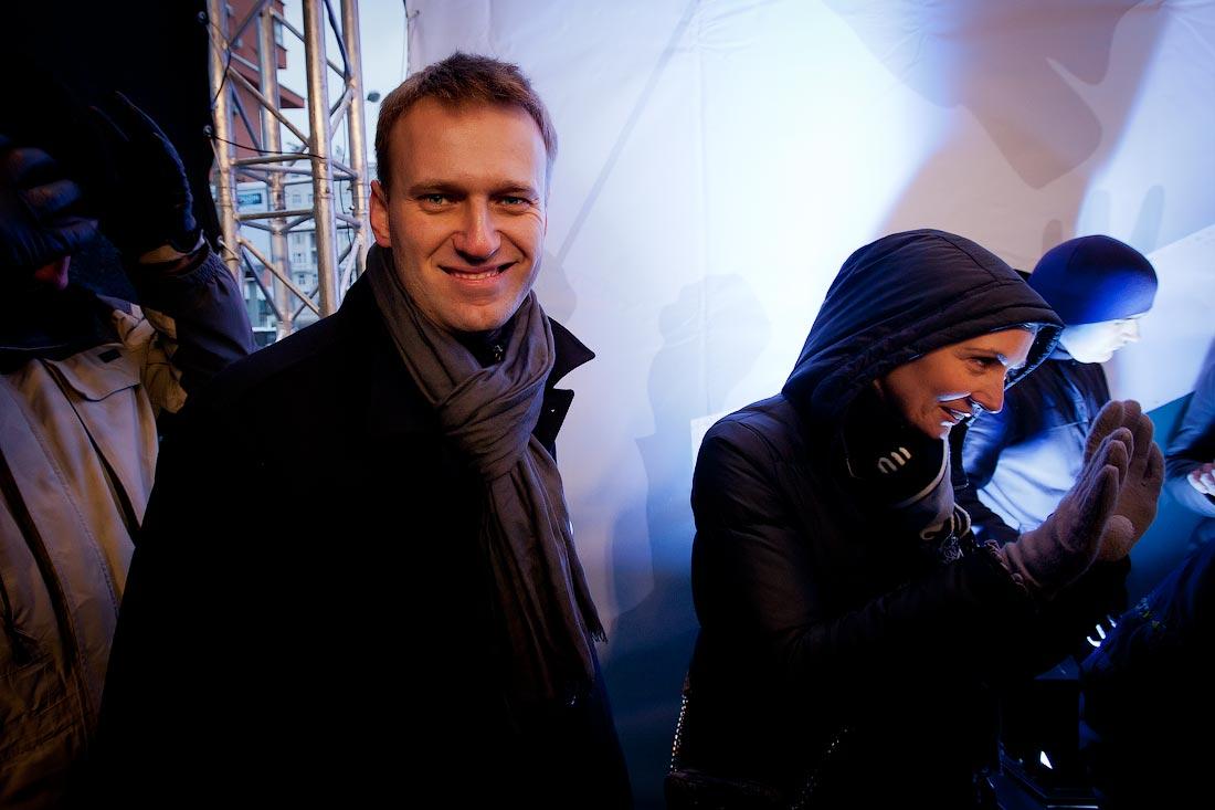 Алексей навальный. Митинг 24 декабря на Проспекте сахарова