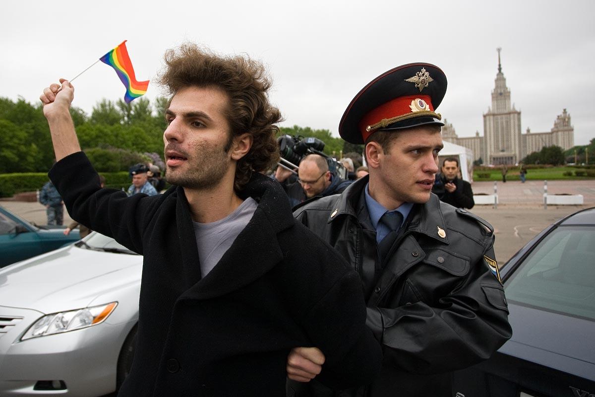 Как прошел гей-парад в Москве (18 фото) + опрос.