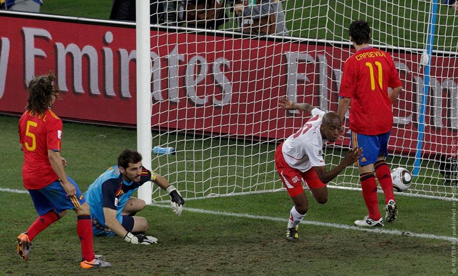Испания — Швейцария 0:1