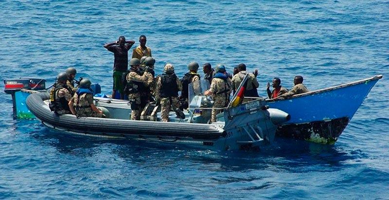 Пираты в Аденском заливе пойманы