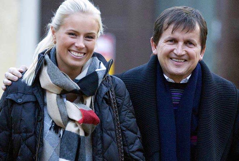 Дочь шведского миллионера Лиза Персдоттер (Lisa Persdotter) обвенчалась сегодня в Гётеборге с миллиардером Чарльзом Шимоньи (Charles Simonyi)