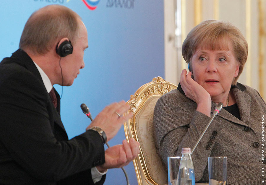 Письмо госпоже Меркель | Brief an Frau Merkel
