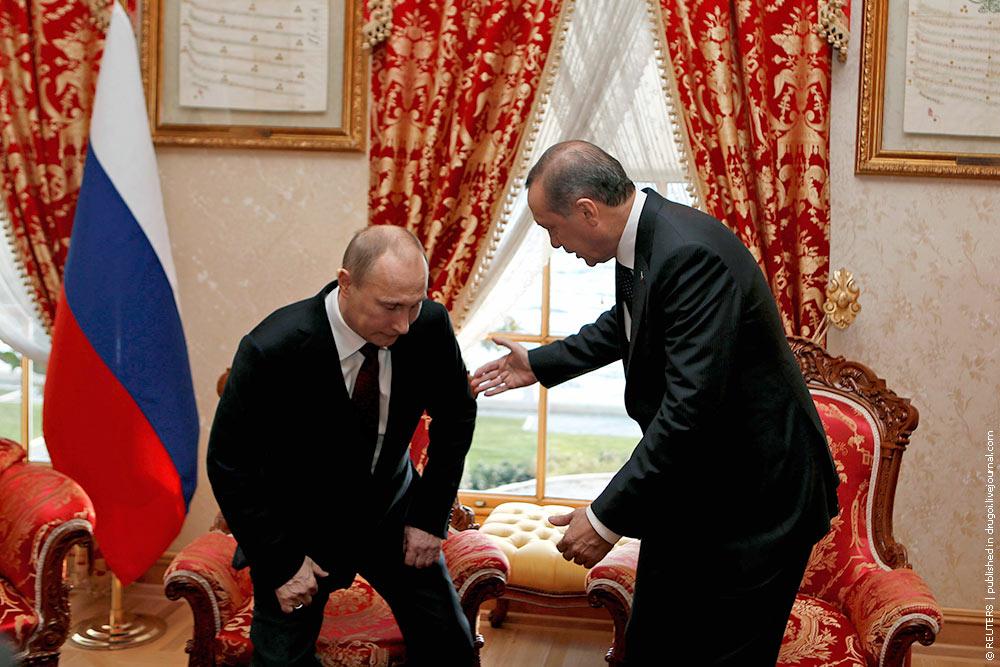 Во время визита Путина в Турцию Лавров сломал руку - Цензор.НЕТ 8198