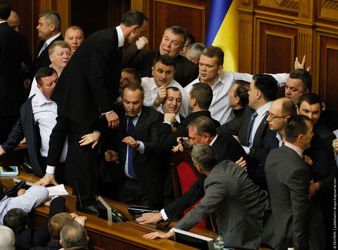 Когда парламент место для дискуссий