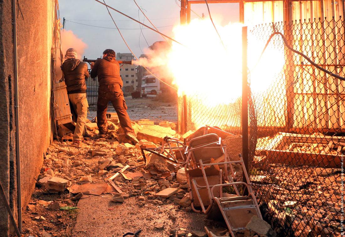 Сирия в огне