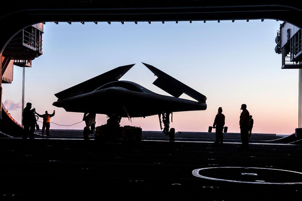 Новости авиации: первый беспилотник ВМС США