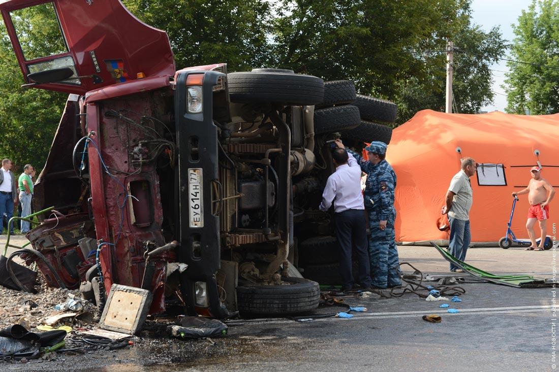 Жесть.  Авария в Новой Москве (8 фото…