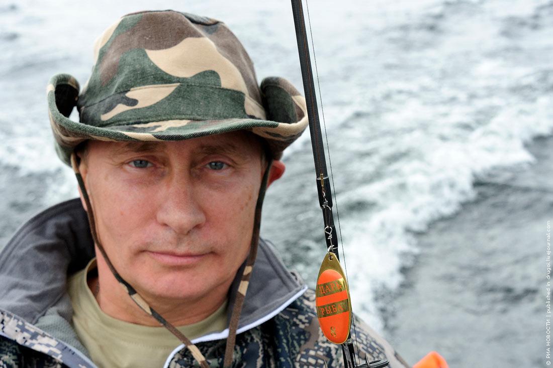 путин получи рыбалке во  тыве