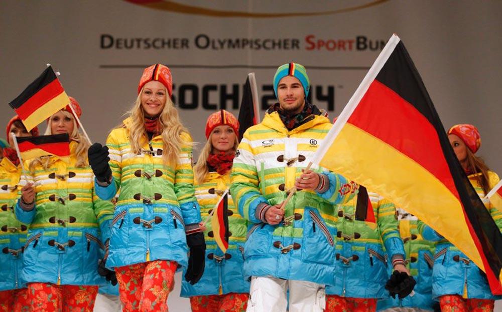 Форма немецкой олимпийской сборной