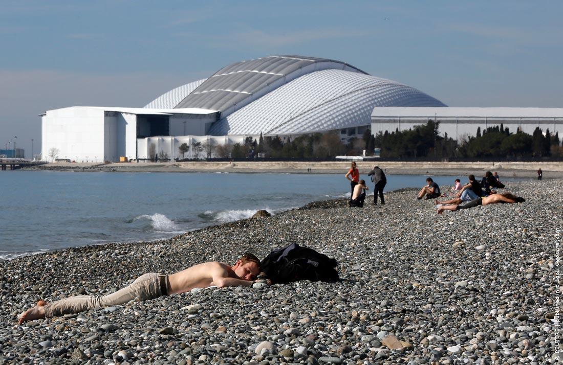 Погода во время проведения Олимпийских игр в Сочи