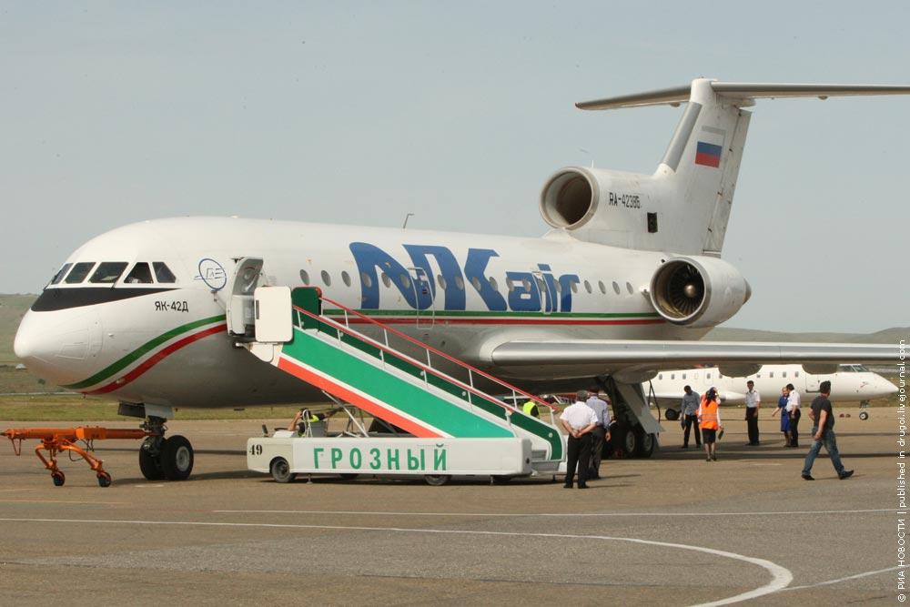 «Грозный авиа» — базовый авиаперевозчик в Крыму