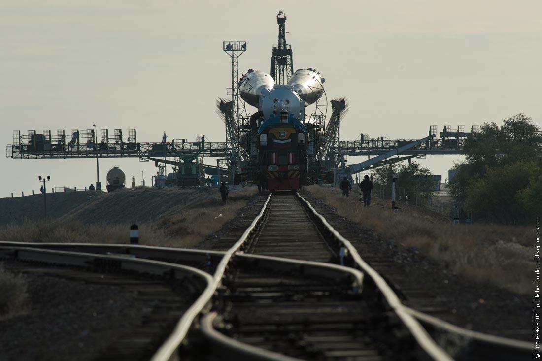 Космическая вахта на Байконуре: «Союз» и «Протон» готовятся к старту