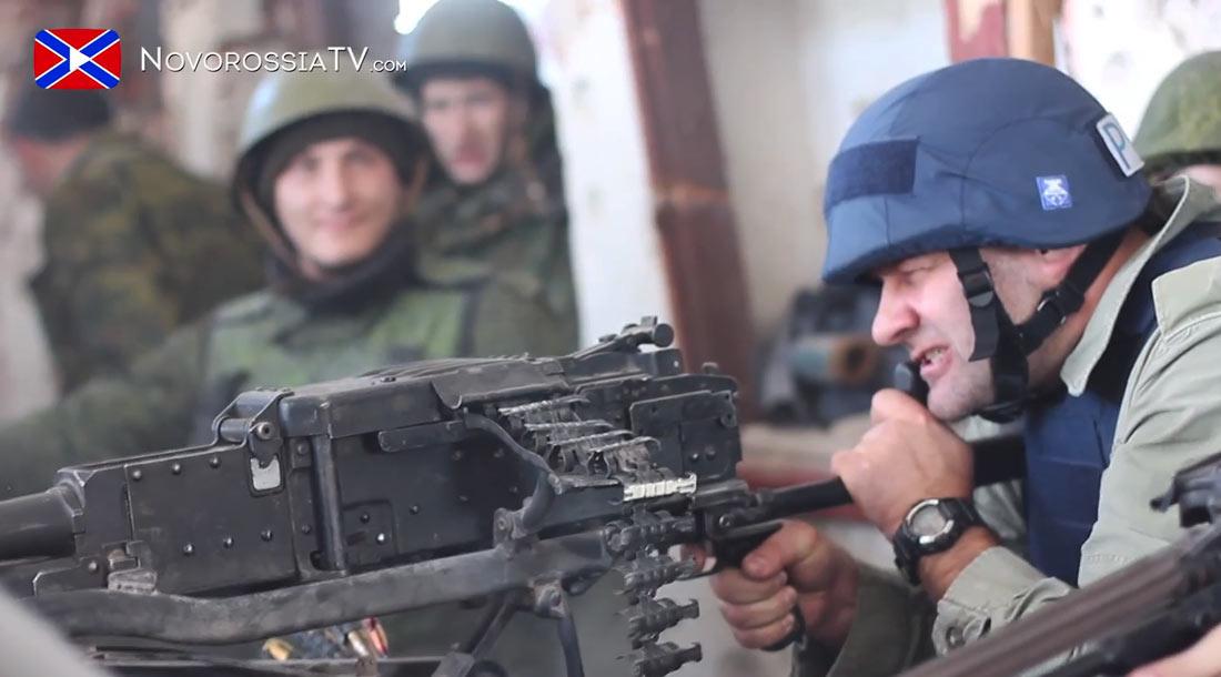 Пореченков стреляет по украинцам