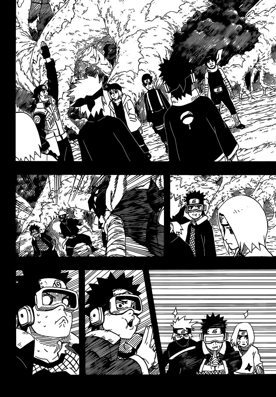 Манга Наруто 6 страница