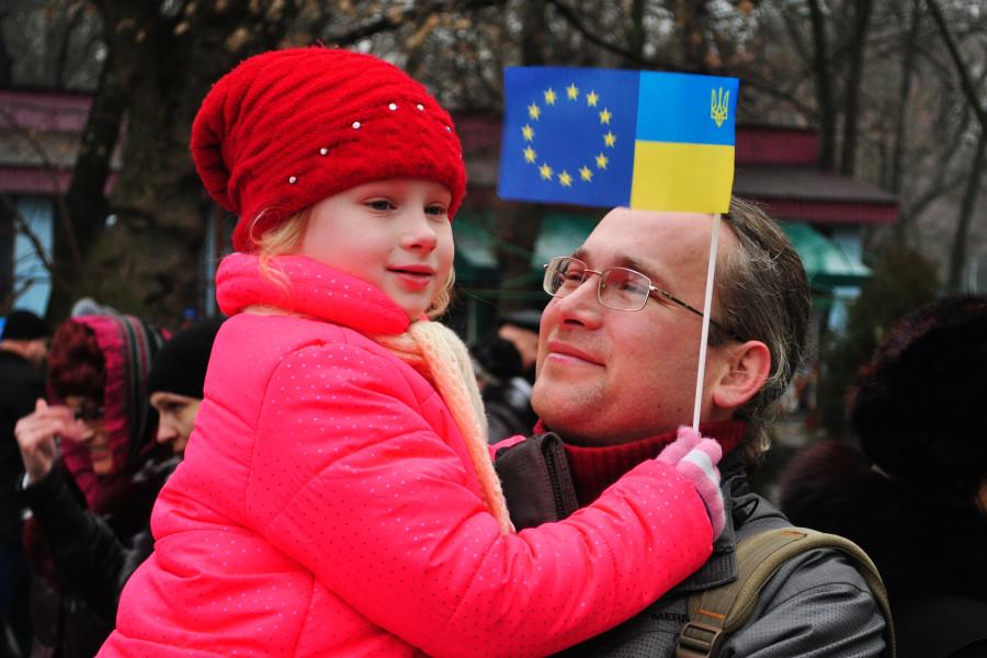 Митинг в Днепропетровске  18 января 2013