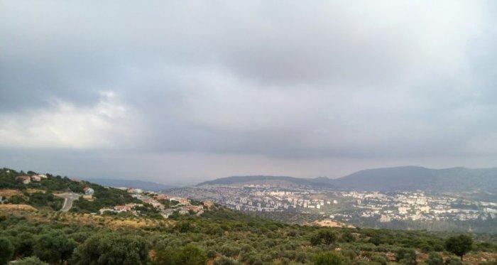 Галилея, вид на озеро Кинерет (Тивериадское море)
