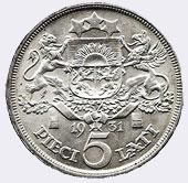 Монета 5 лат 1932 года проба серебра и вес как удалить ржавчину с долларовых купюр