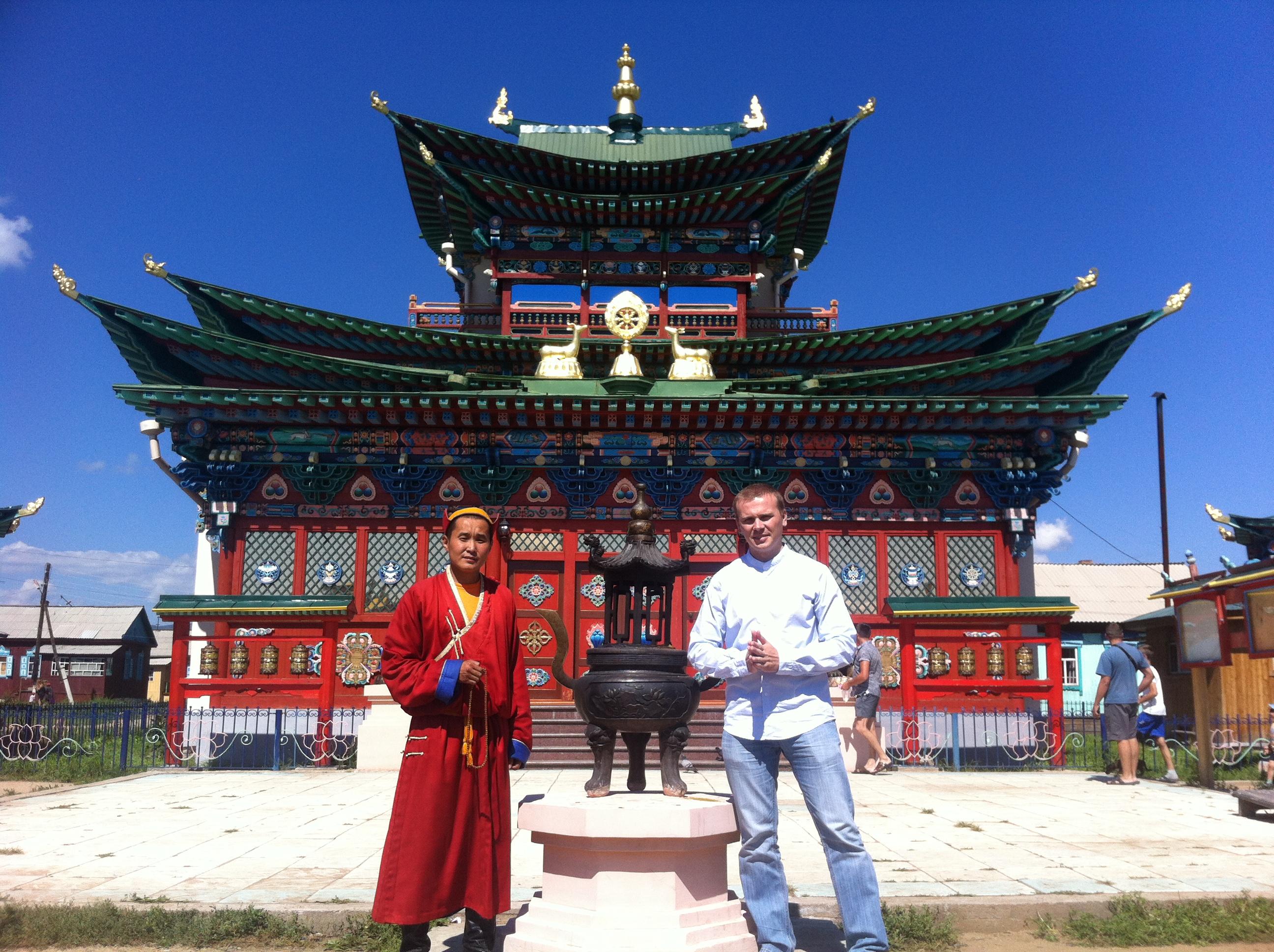 Иволгинский дацан. Дворец Хамбо Ламы