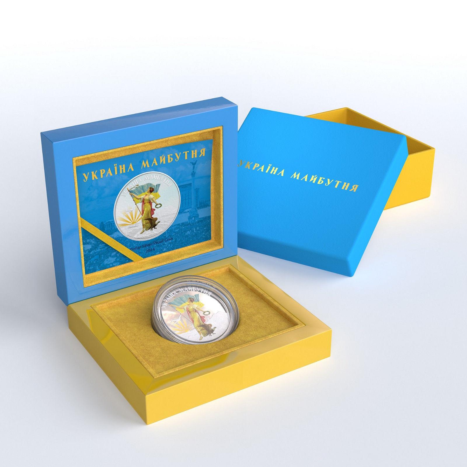 украина монета  3