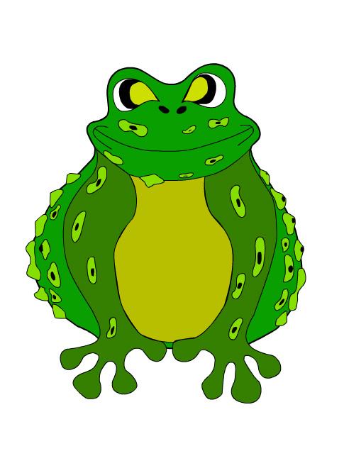 Прикольная картинка жабы которая душит, где вместе днем