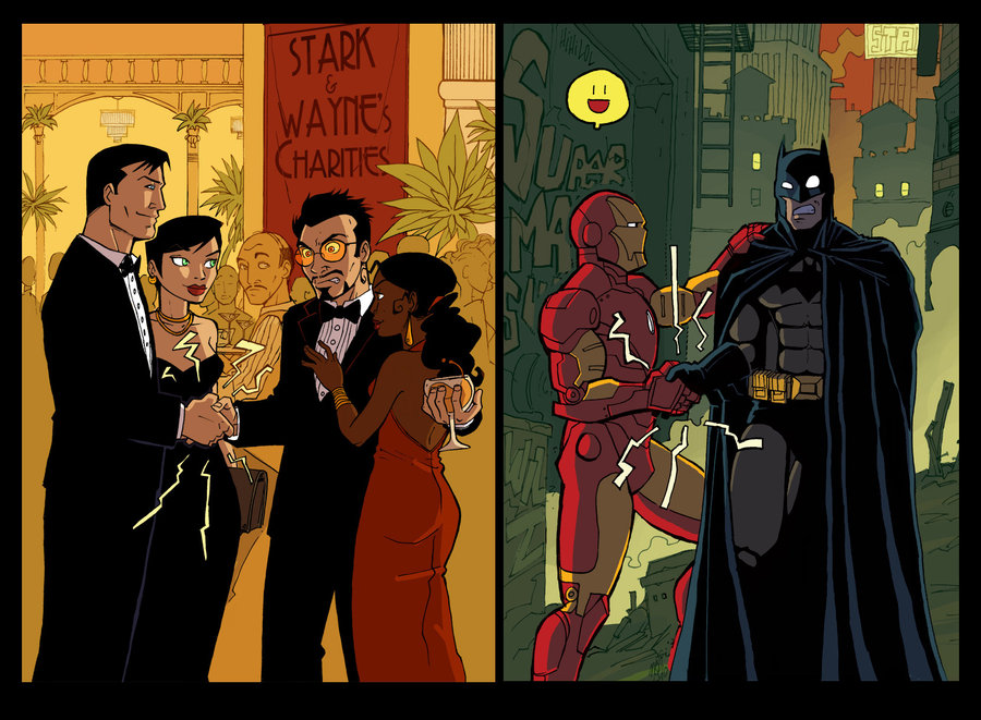 Crossover_by_Vanoxymore-batman-ironman-bruce-wayne-tony-stark-crushing-handshakes-
