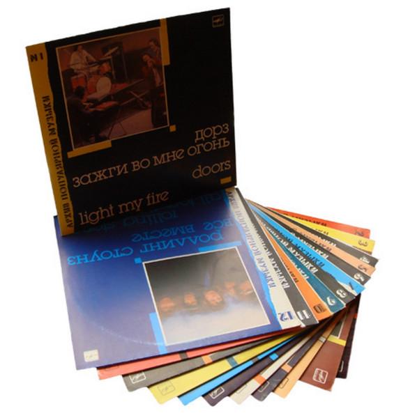 Пластинки из 80-х. Зарубежная эстрада