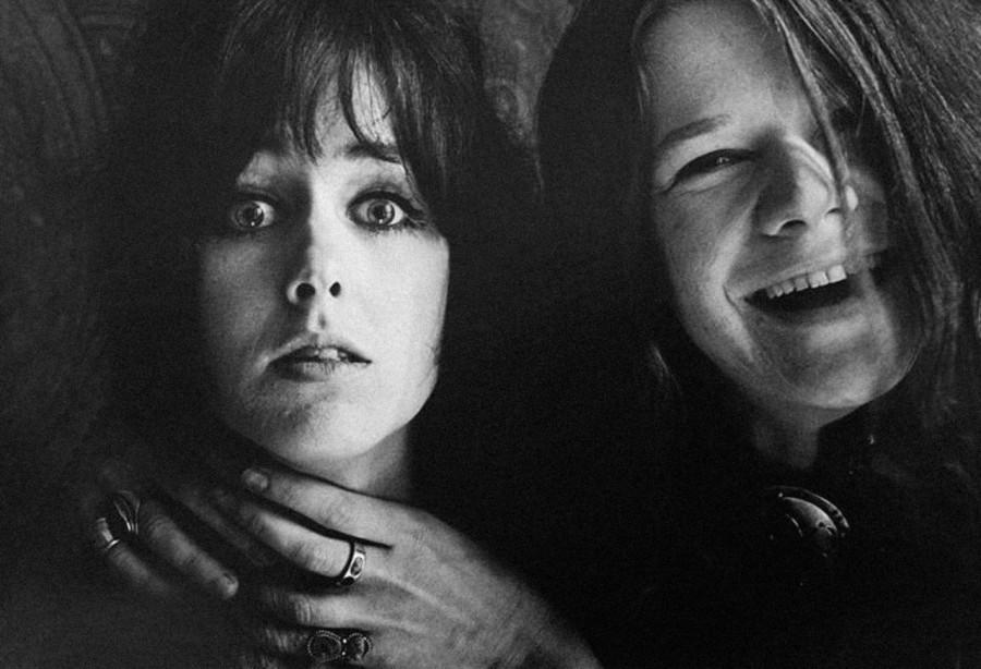 003 Грейс Слик и Дженис Джоплин. Фото Джим Маршалл, 1967