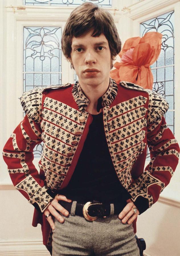 009 Мик Джаггер, портрет Колин Джонс, 1967