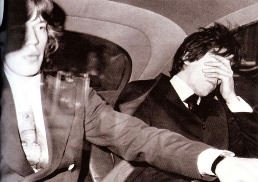 018 Мик Джаггер и Кит Ричардс, 1967