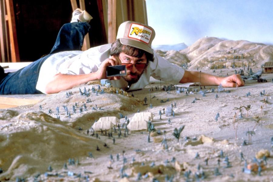 028 Стивен Спилберг на съемках «Искателей утраченного ковчега»