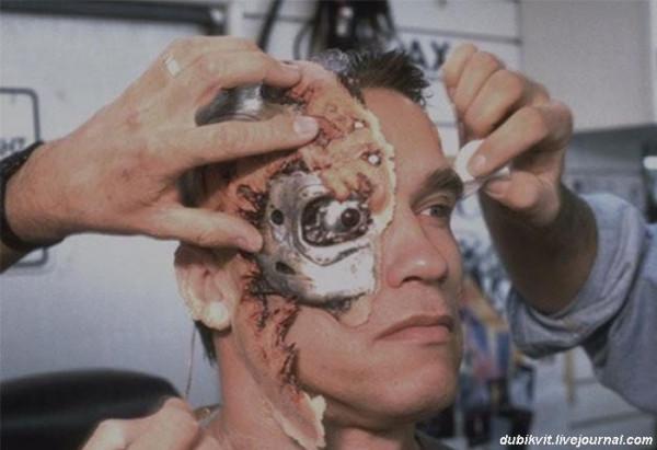 0050 Арнольд Шварценеггер на съемках «Терминатора 2»